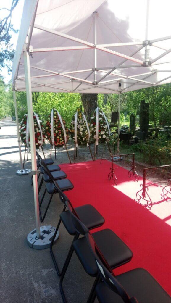Місце проведення похорону